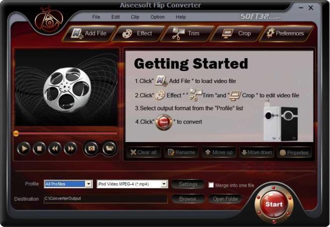 Aiseesoft Flip Converter Screenshot 2