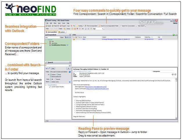 NEO Find Screenshot 3