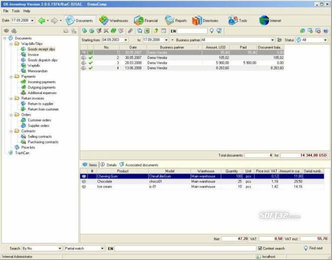 OK-Inventory FE Screenshot 2