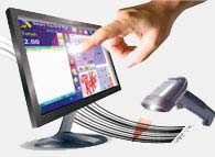 1EZ Touch POS Software Screenshot