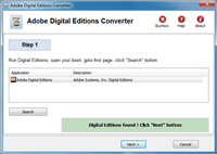 Digital Editions Converter Screenshot