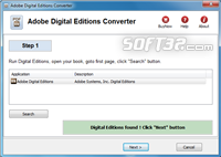 Digital Editions Converter Screenshot 2