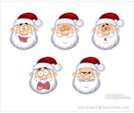 Santa Claus Icons Screenshot 2