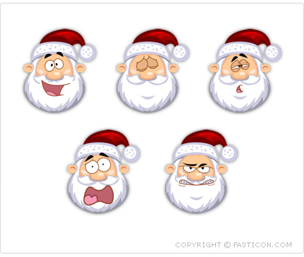 Santa Claus Icons Screenshot