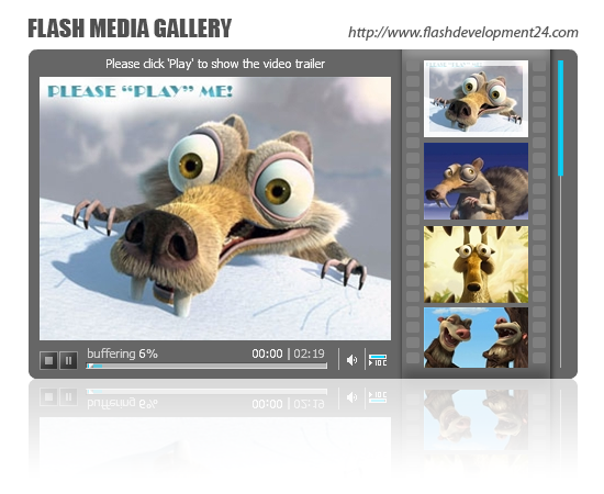 Flash Media Gallery by FD24 Screenshot 1