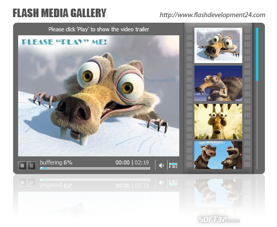 Flash Media Gallery by FD24 Screenshot 2
