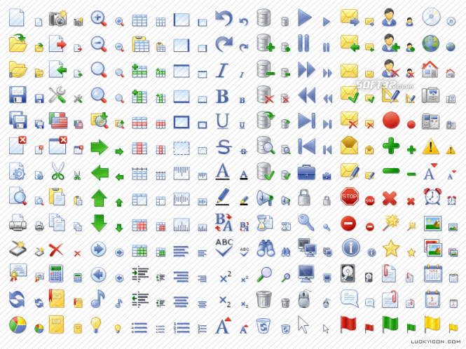 Office Style Icon Set Screenshot 3