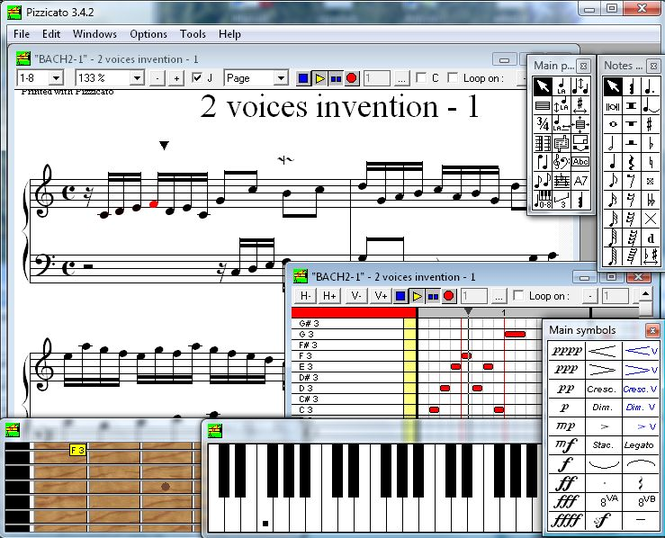 Pizzicato Beginner Screenshot
