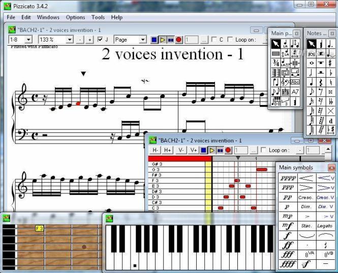 Pizzicato Beginner Screenshot 3