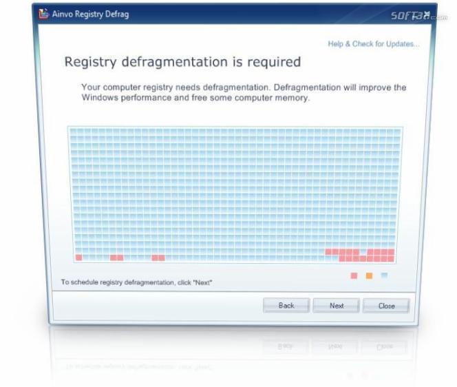 Ainvo Registry Defrag Screenshot 3