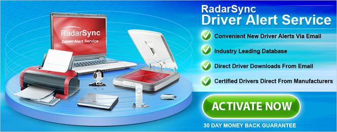RadarSync Driver Alert Service Screenshot