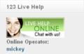 123 Live Help Free Joomla Module 1
