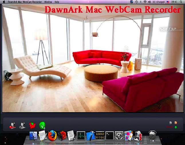 DawnArk Mac WebCam Recorder Screenshot 3