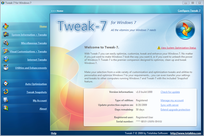 Tweak-7 Screenshot