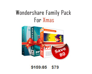 Wondershare Family Pack Screenshot 1