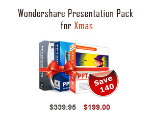 Wondershare Presentation Pack Screenshot