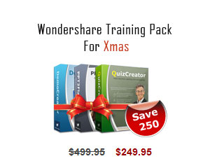 Wondershare Training Pack Screenshot