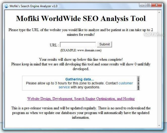 Mofiki's SEO Analyzer Screenshot 3