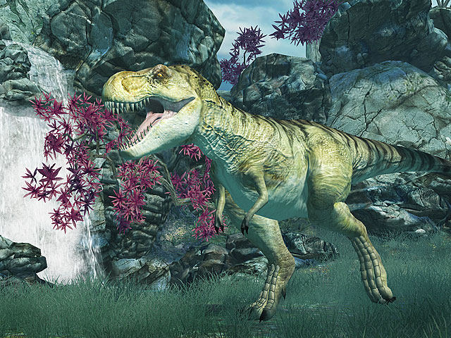 Tyrannosaurus Rex 3D Screensaver Screenshot