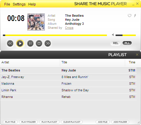 ShareTheMusic Pack Screenshot 1