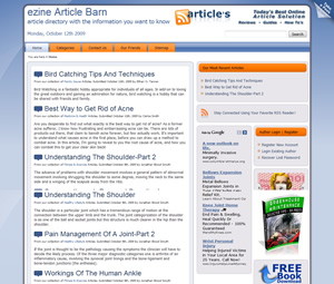 WordPress Article Software Screenshot 2