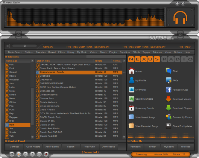 Nexus Radio Screenshot 4