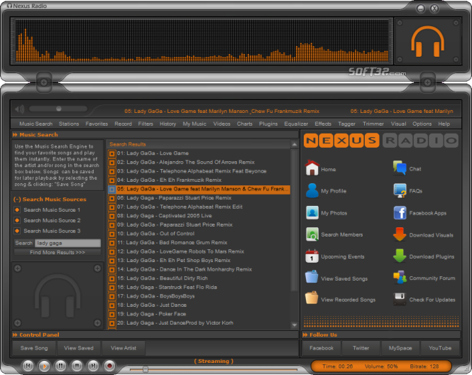 Nexus Radio Screenshot 3