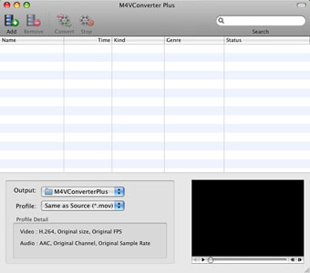 M4V Converter Plus Screenshot