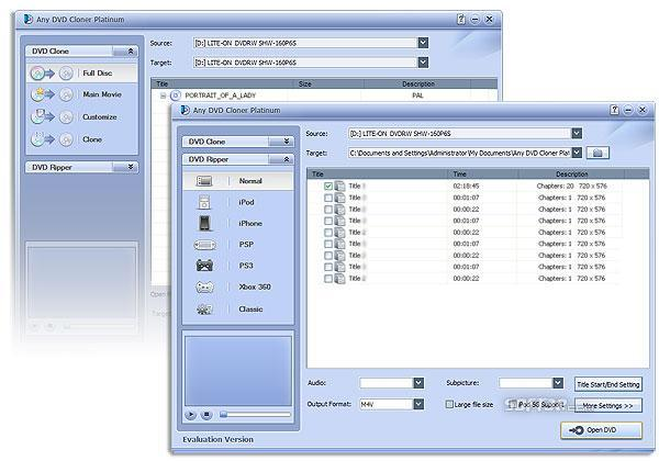 Any DVD Cloner Platinum Screenshot 3