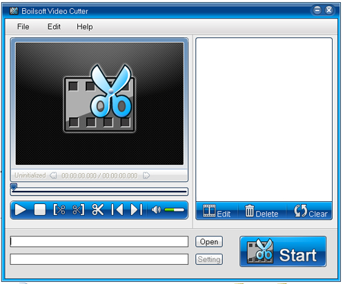 Boilsoft Video Cutter Screenshot 1