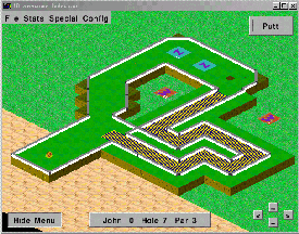 Sharpshooter's Miniature Golf Screenshot
