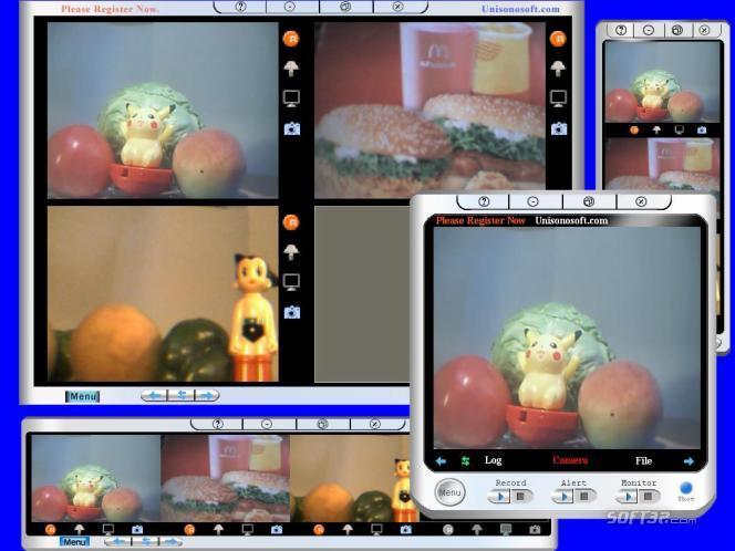 Unisonosoft.com Webcam Internet Browser Monitor Screenshot 2