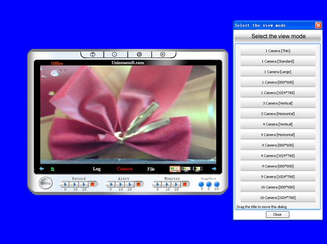 Unisonosoft.com Mini Webcam Robot Auto Email Special Screenshot