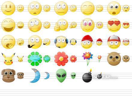 Standard Smile Icons Screenshot 3