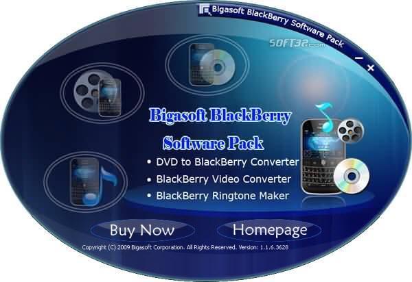 Bigasoft BlackBerry Software Pack Screenshot 3