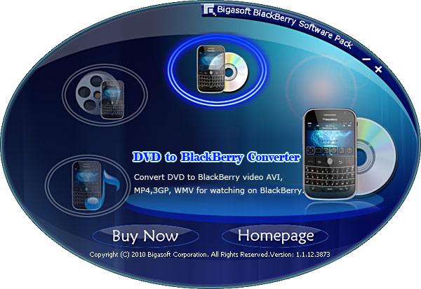 Bigasoft BlackBerry Software Pack Screenshot 1