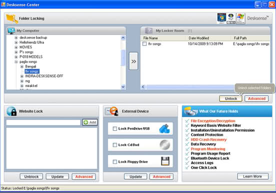 Desksense Professional Screenshot