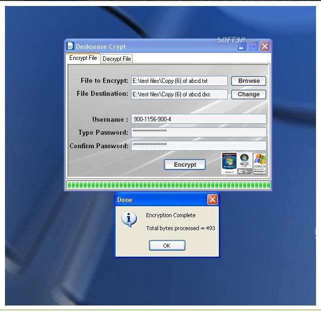 Desksense Crypt Screenshot 3