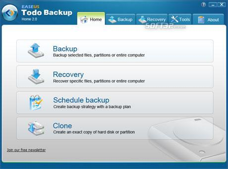 EaseUS Todo Backup Free Screenshot 3