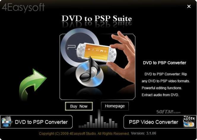 4Easysoft DVD to PSP Suite Screenshot 2