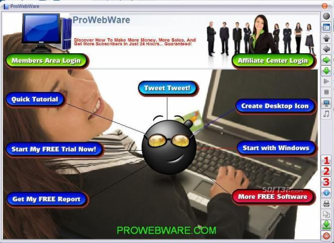ProWebWare Online Marketing Software Screenshot 2