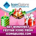Windows7 Festival Icons Screenshot 1