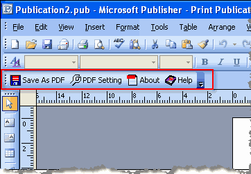 Publisher to PDF Converter Screenshot