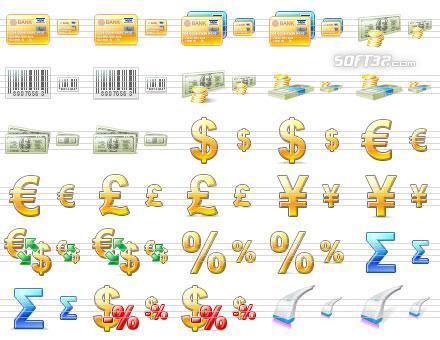Large Commerce Icons Screenshot 2