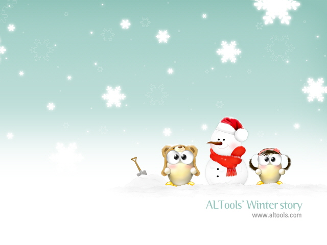 ALTools Christmas Wallpaper Screenshot