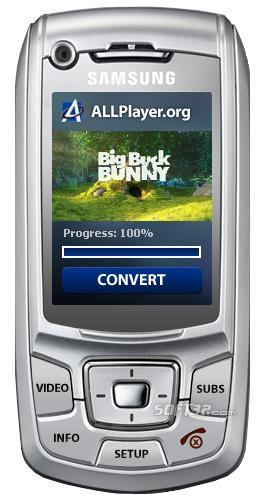 ALLConverter to 3GP GSM Screenshot 3