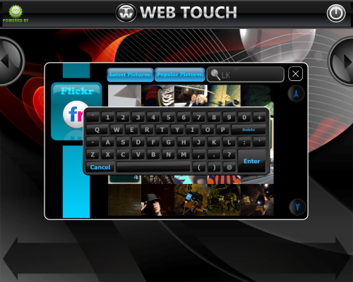 Web Touch Screenshot 1