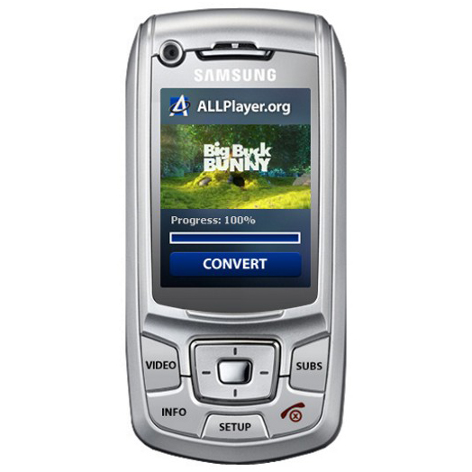 ALLConverter to 3GP GSM Portable Screenshot
