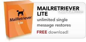 MailRetriever Lite for Excchange Screenshot 2