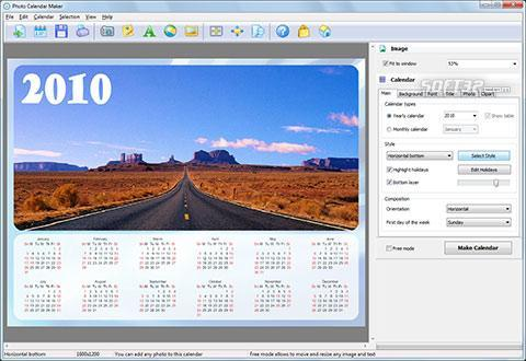 Photo Calendar Maker Screenshot 2